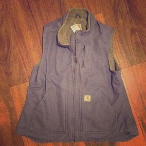 Women's Carhartt vest XL lilac